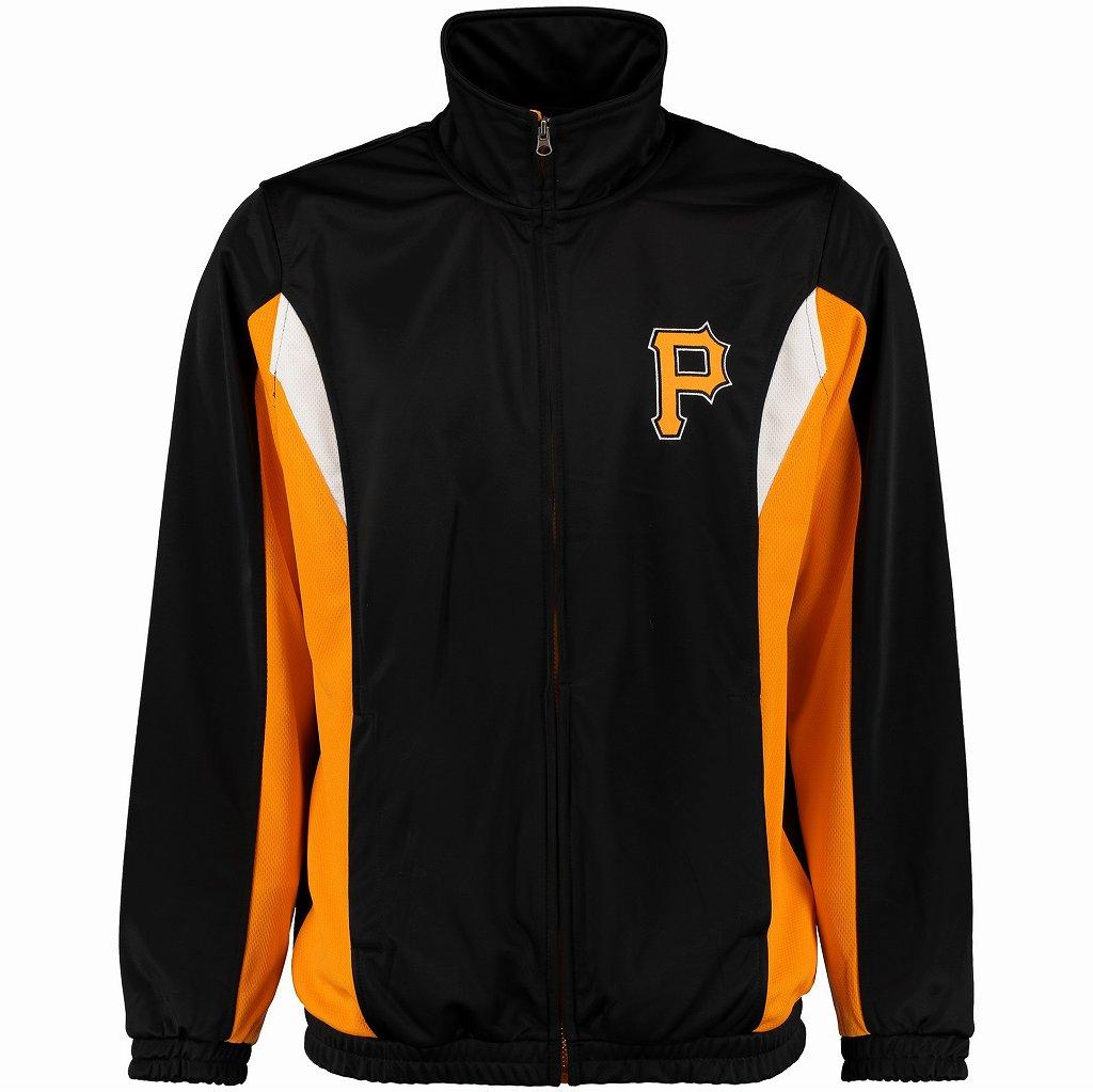 G-III Sports by Carl Banks Pittsburgh Pirates MLB トラックジャケット(LAI50313)/2XL/ピッツバーグ・パイレーツ★US購入B系HIPHOPカジュアルストリート大きいサイズ/キングサイズ/AX72【送料無料】