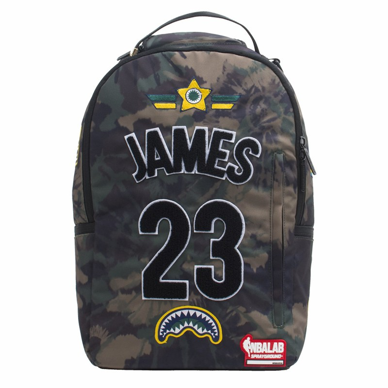Sprayground NBALAB LeBron James Los Angeles Lakers バックパック リュックサック/スプレーグラウンド(910B1863NSZ)/BAG199☆US購入LANYストリートカジュアルスポーツダンサーバイク【送料無料】