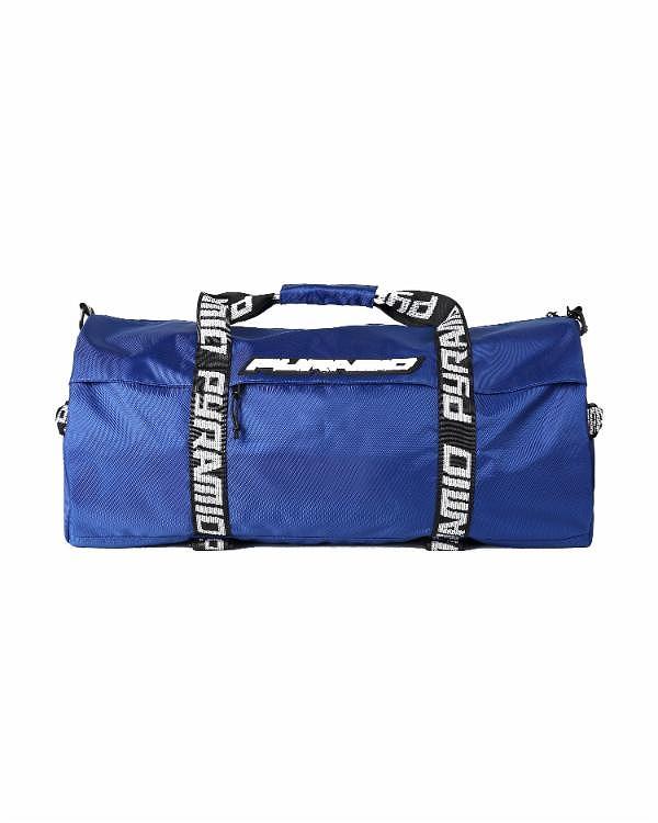 BLACK PYRAMIDダッフルバック DUFFLE BAG/BLUE/ブラックピラミッド/クリスブラウン(Y7161639)/BAG207☆US購入LANYストリートカジュアルスポーツダンサーバイク【送料無料】