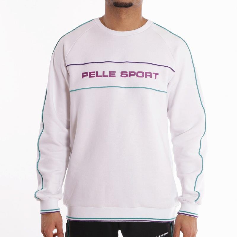 Pelle Pelle Linearクルーネック/トレーナー(PM2000-1803)ペレペレ/L/XL/2XL/3XL/4XL【送料無料】AY51/B系HIPHOPストリートカジュアル/大きいサイズ/ヨーロッパライン