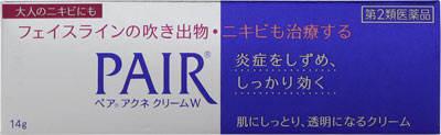 <title>第2類医薬品 推奨 ペアアクネクリームW 14g ライオン株式会社</title>