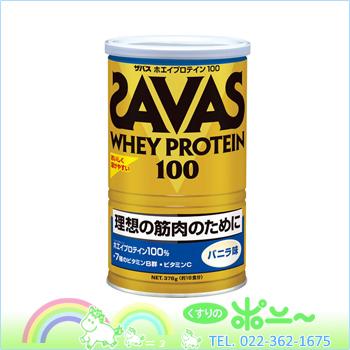 安息日乳清蛋白 100 香草口味 378 g