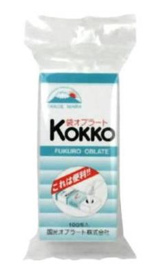 いろいろなお薬を飲みやすくする為につくられた純自然製品 国光 KOKKO袋オブラート 限定特価 ギフ_包装 100枚入