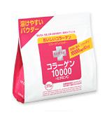 乐天胶原蛋白 10000 + 维他命 C 粉末大袋 (375 克)