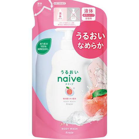 Kracie 家居产品有限公司植物天真 100%肥皂 < 桃叶提取物 > 果味花香笔芯为 400 毫升