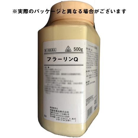 【第3類医薬品】剤盛堂薬品株式会社フラーリンQ 500g(ボトル)薬効分類 :婦人薬【ドラッグピュア市場店】