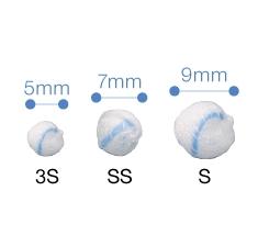 【本日ポイント5倍相当】オオサキメディカル株式会社X線造影材入りスポンジ『滅菌オオサキツッペルX TSベル型L-5 (直径)15mm 5個入(20袋)』【一般医療機器】(発送までに7~10日かかります・ご注文後のキャンセルは出来ません)
