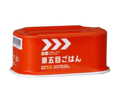 horikafuzu株式会社救援食品系列◆单物品栗子什锦饭罐(200g)*24个安排◆ ※为需要高涨有到送需要时间的情况※