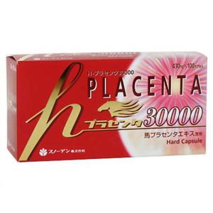 【本日ポイント5倍相当】スノーデン株式会社h-プラセンタ30000 100カプセル×5箱【ドラッグピュア市場店】