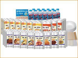 【本日ポイント5倍相当】(ただいま入荷未定です。1604)アルファフーズ株式会社美味しい防災食ファミリーセット(保存水有)FS35【ドラッグピュア市場店】