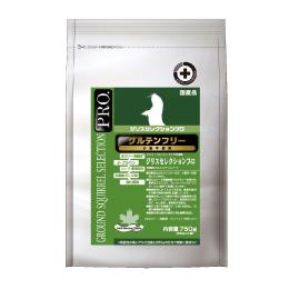 小麦を一切使用していないグルテンフリー設計 ジリスセレクションプロ グルテンフリー 250g×3 プレーリードッグ 牧草 チモシー 乳酸菌 出色 健康 カモミール 完売