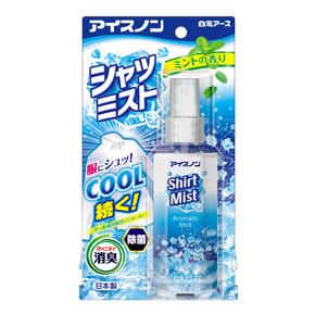 新作続 アイスノン 日本正規品 シャツミスト ミントの香り 小型宅配便利用の場合 シャツミストミントの香り 日時指定はできません 100ml 4902407024312