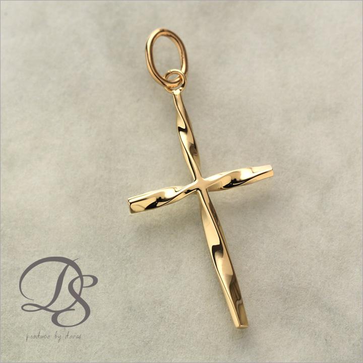 Original designers jewelry devas rakuten global market rare cross rare cross pendant shaped twist design 18 gold gold pendants charms devas mozeypictures Choice Image