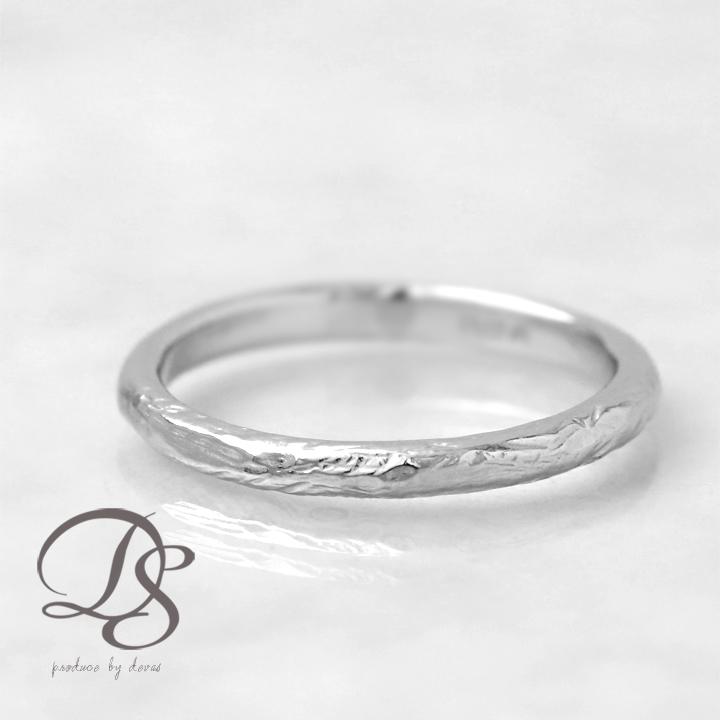 プラチナ リング レディース Pt950 platinum 指輪 レディース オシャレ メンズ リング ダメージ風 シンプル 1号 2号 3号 4号 5号 ring誕生日 ギフト プレゼント 贈り物 ペアリング 結婚指輪DEVAS ディーヴァス 【送料無料】