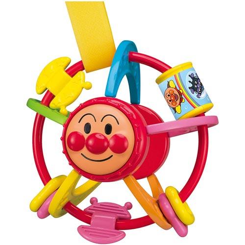 おもちゃ ベビー 人気 おすすめ 男の子 女の子 おでかけ 電池不要 アガツマ おでかけ手あそびボールミニ アンパンマン 7ヶ月~ 爆売り ギフト