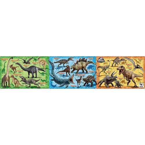 おもちゃ 知育玩具 男の子 脳トレ プレゼント ギフト ステップパノラマパズル 男女兼用 ジュラシック 大幅値下げランキング ワールド 子供向けパズル 32ピース 18 アポロ社 5才から 24-151 恐竜大図鑑 24