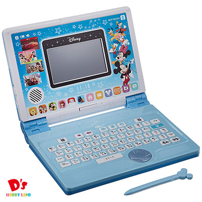ディズニー&ディズニー/ピクサーキャラクターズ パソコンとタブレットの2WAYで遊べる! ワンダフルドリームタッチパソコン バンダイ 3才から