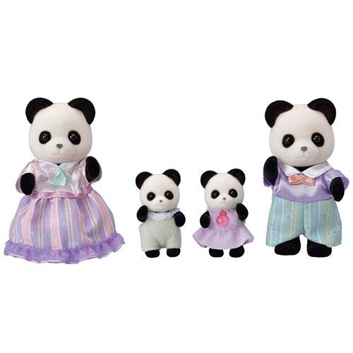 女の子 (人気激安) おもちゃ ままごと ごっこ遊び 人形 誕生日 エポック社 3才から パンダファミリー シルバニアファミリー FS-39 プレゼント お買い得