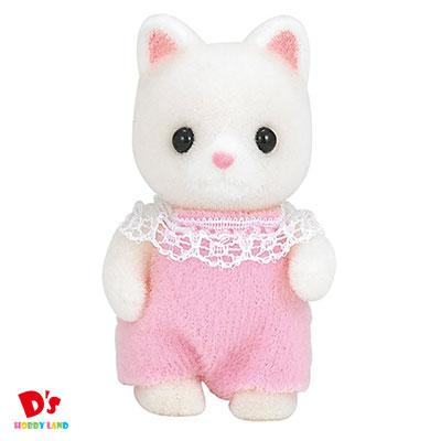 女の子 おもちゃ ままごと 2020 新作 ごっこ遊び 人形 ギフト ニ-89 シルクネコの赤ちゃん 低価格 エポック社 シルバニアファミリー プレゼント 3才から