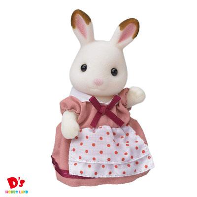店 女の子 おもちゃ ままごと ごっこ遊び 人形 誕生日 ショコラウサギのお母さん ショコラウサギファミリー 業界No.1 3才から プレゼント エポック社 シルバニアファミリー