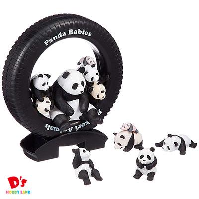 ほっこり動物親子シリーズ パンダの赤ちゃんいっぱい エポック社 4才から