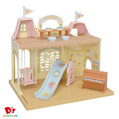 女の子 おもちゃ 買取 ままごと ごっこ遊び 家具 ギフト プレゼント 森のたのしいようちえん 学校 超激得SALE エポック社 シルバニアファミリー S-61 ようちえん 3才から
