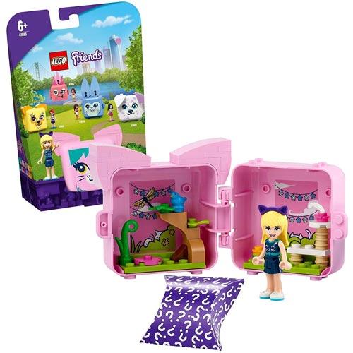 女の子 おもちゃ ブロック ごっこ遊び お人形 フィギュア コレクション 買い取り レゴ LEGO キュービーズ 41665 ステファニーのねこキューブ フレンズ 6才から - 爆安