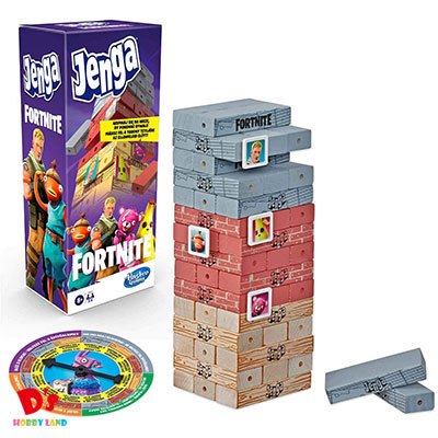 驚きの値段 おもちゃ バランスゲーム パーティー 家族 友達 海外限定 プレゼント オンラインゲーム E9480 ハズブロジャパン フォートナイト ジェンガ 8才から