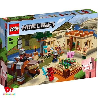 レゴ(LEGO) マインクラフト イリジャーの襲撃 21160 8才から
