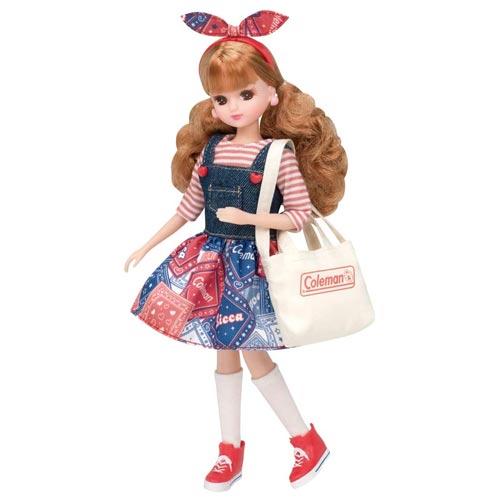 女の子 おもちゃ 人形 ままごと 2020新作 ごっこ 洋服 コールマン カジュアル ガーリーピクニック LW-10 リカちゃん タカラトミー 3才から 初回限定 ドレス ギフト