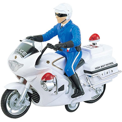 男の子 おもちゃ 乗り物 白バイ フリクション走行 おすすめ 3才から リアルサウンド トイコー ご予約品 プレゼント サウンドポリスバイク