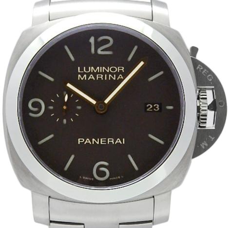 【DS KATOU】 PANERAI パネライ ルミノール1950 3デイズ 3days PAM00352 メンズ S番 オートマ ブラウン文字盤 【中古】