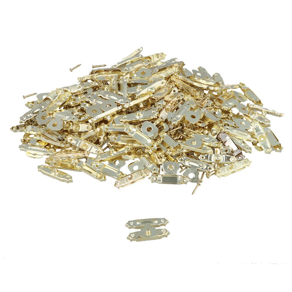 お金を節約 40個入 ボックスラッチ ロックラッチ ジュエリーボックス用 ゴールド 鉄製 27x16mm 公式ショップ