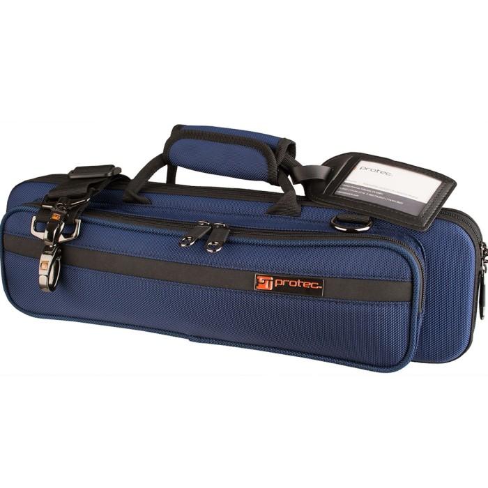 【DT】PROTEC PB308BX フルート用セミハードケース ブルー