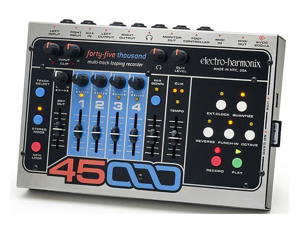 【DT】Electro-Harmonix 45000 Multi-Track Looping Recorder マルチトラック ルーピング レコーダー