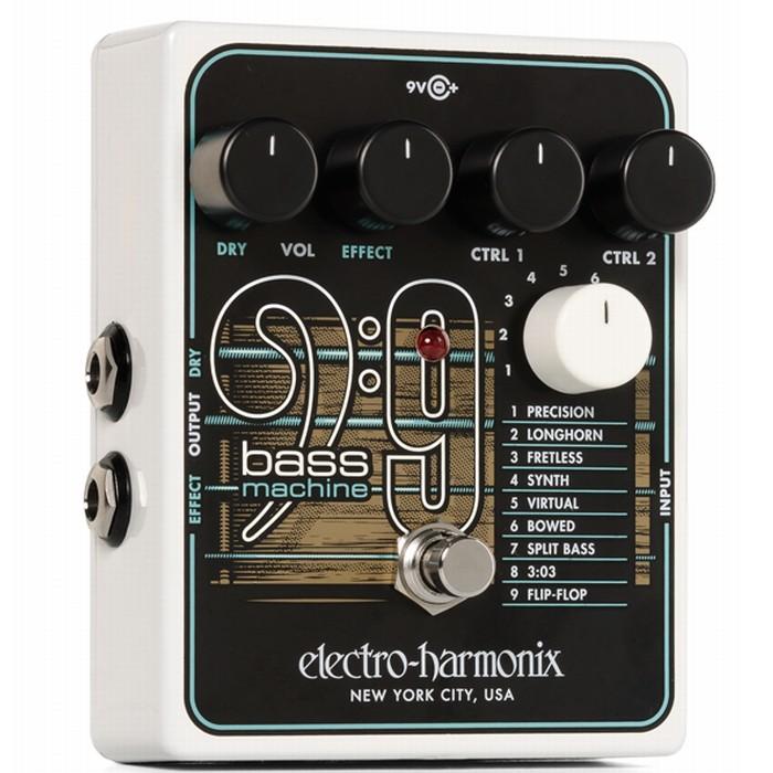 【DT】Electro-Harmonix BASS9 ギター用ベースサウンド シミュレーター