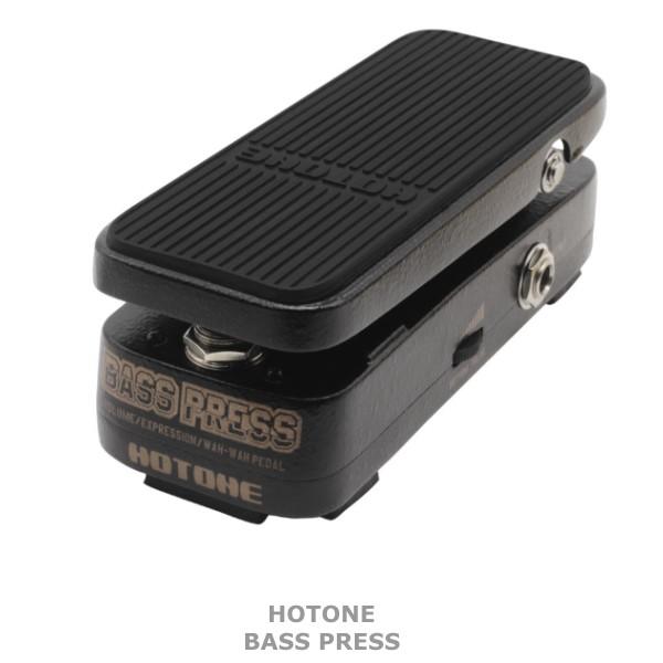 【DT】Hotone Bass Press ボリュームペダル/エクスプレッションペダル/ワウペダル