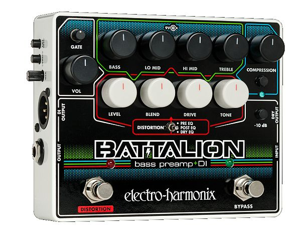 【DT】Electro-Harmonix Battalion ベース プリアンプ/DI