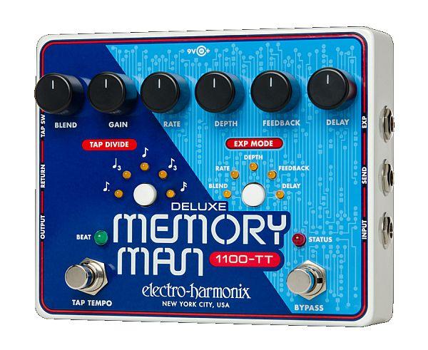 【DT】Electro-Harmonix Deluxe Memory Man 1100-TT ディレイ/タップテンポ