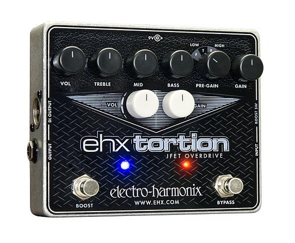 【DT】Electro-Harmonix EHX Tortion オーバードライブ