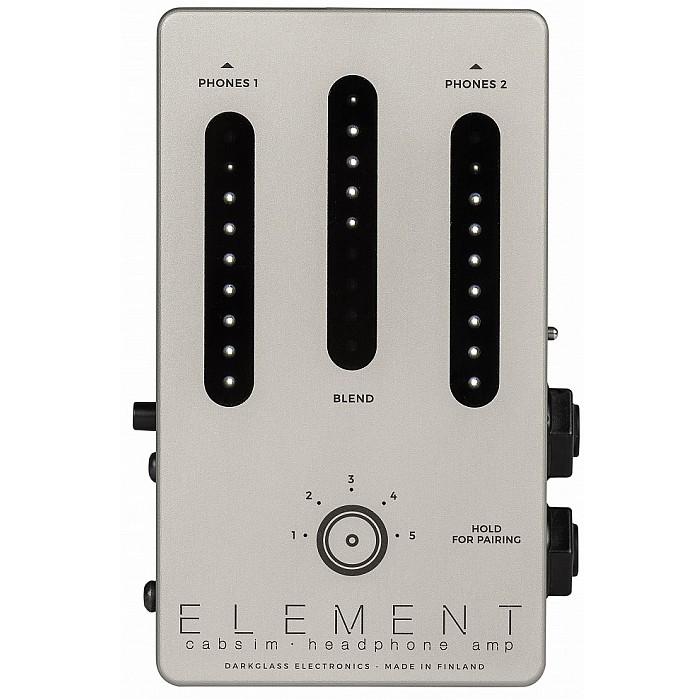 【DT】Darkglass Electronics ELEMENT Cabsim Headphone amp ヘッドフォンアンプ/プリアンプ/IRキャビネットシミュレーター