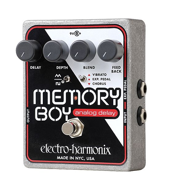 【DT】Electro-Harmonix Memory Boy ディレイ/コーラス Memory Boy/ビブラート, マッキー:31be115f --- ww.thecollagist.com