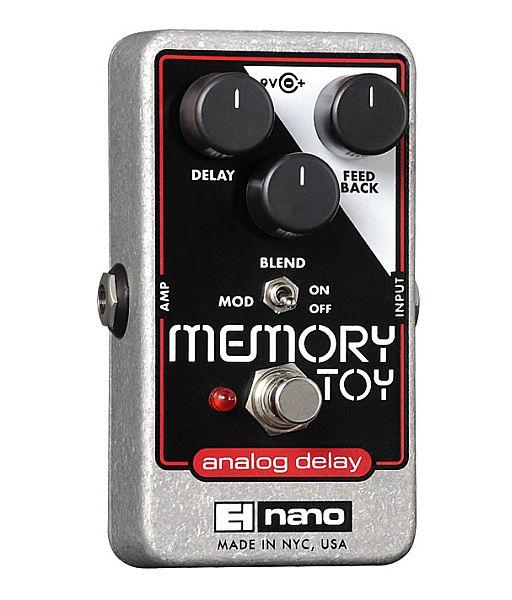 【DT】Electro-Harmonix Memory Toy ディレイ/コーラス