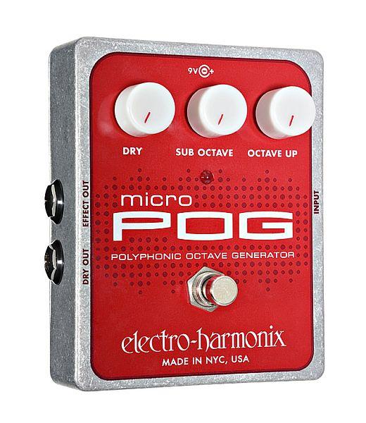【DT】Electro-Harmonix Micro POG ポリフォニック オクターブ ジェネレーター