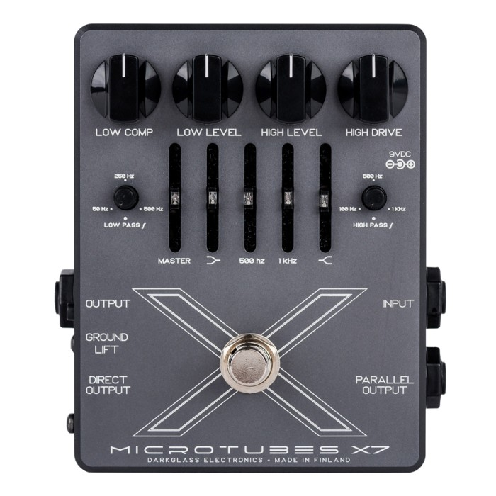 【DT】Darkglass Electronics Microtubes X7 ディストーション