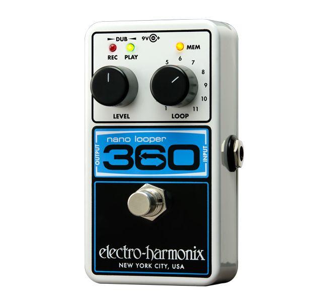 【DT】Electro-Harmonix Nano Looper 360 ルーパー