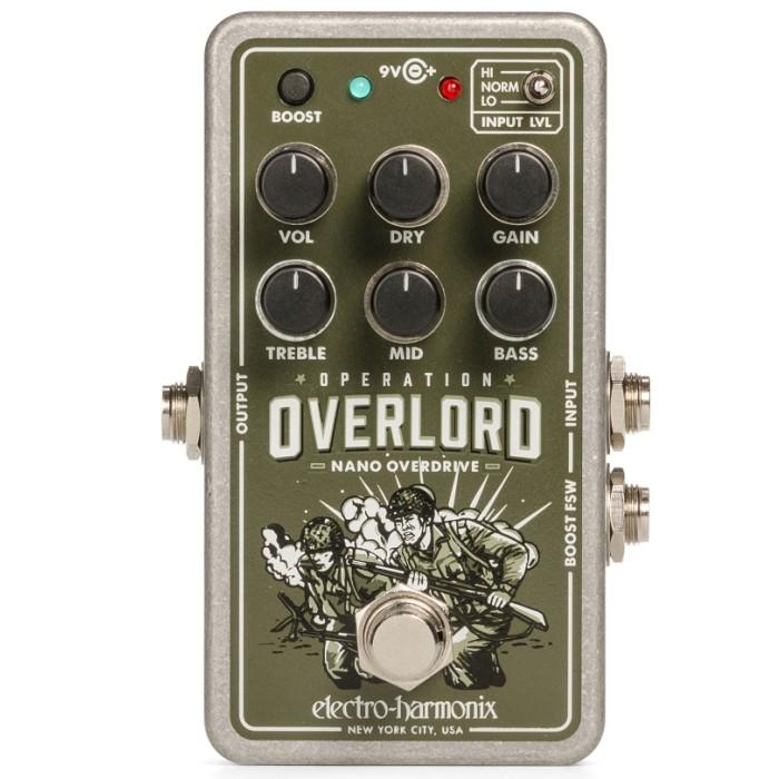 【DT】Electro-Harmonix Nano Operation Overlord オーバードライブ/ディストーション