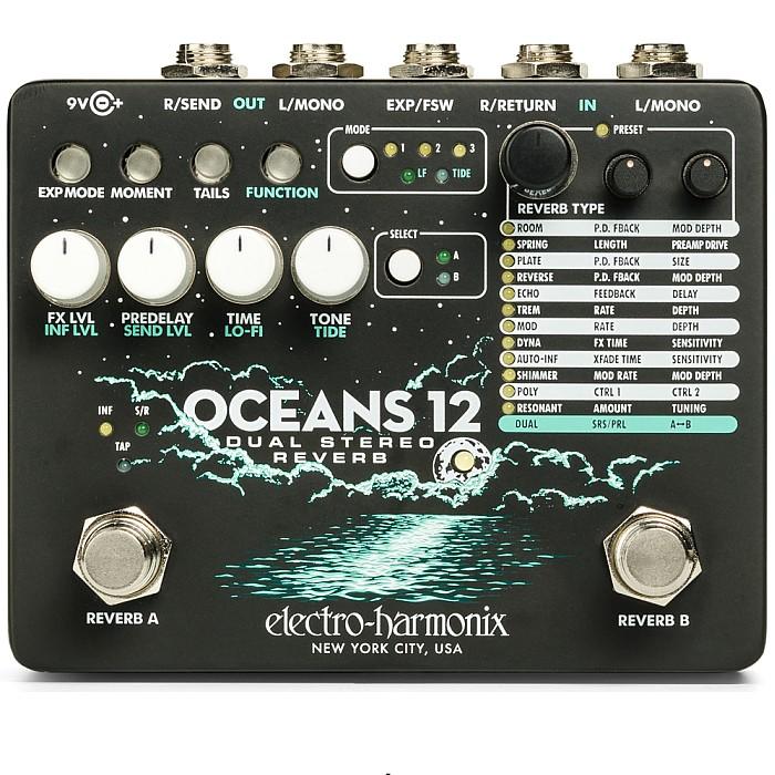 【DT】Electro-Harmonix Oceans 12 Dual Stereo Reverb リバーブ