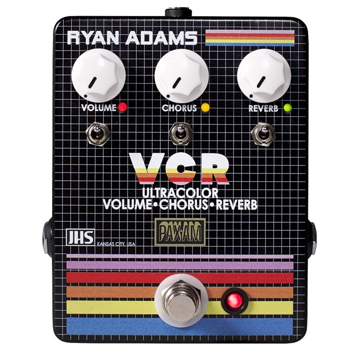 【DT】JHS Pedals The VCR ブースター/コーラス/リバーブ