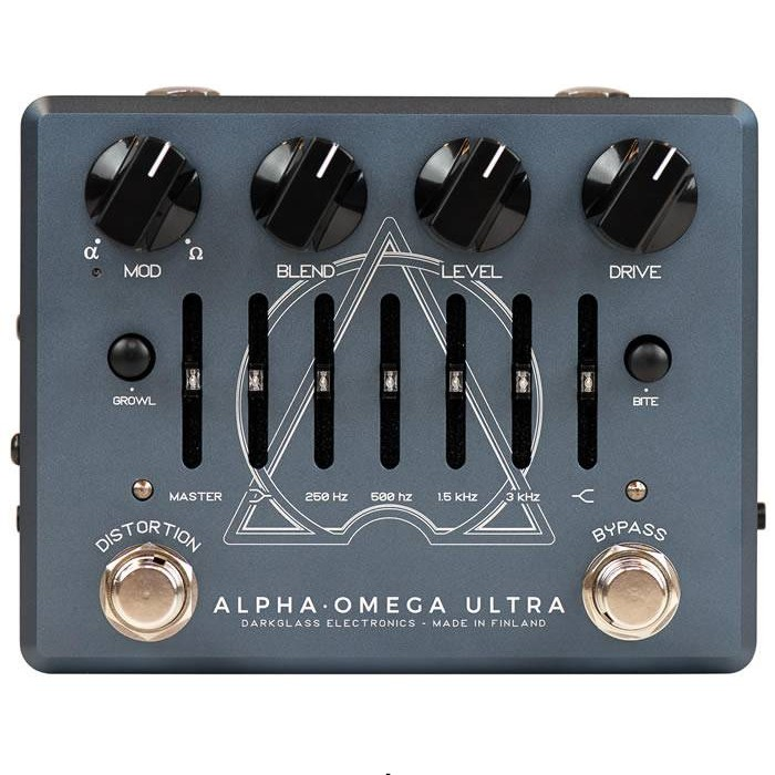 【DT】Darkglass Electronics Alpha Omega Ultra v2 with AUX IN プリアンプ/ディストーション